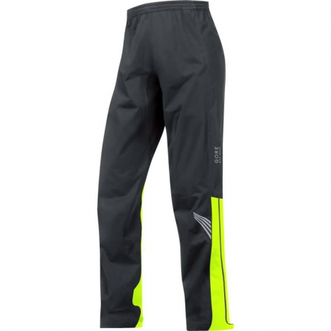 GORE BIKE WEAR E-GORE-TEX® Active Hose black/neon yellow für Herren