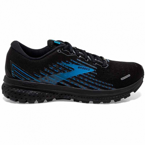BROOKS GHOST GTX black/grey/blue for men