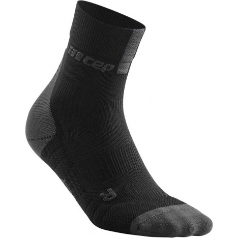 CEP men Compression Short Socks 3.0 black/dark grey