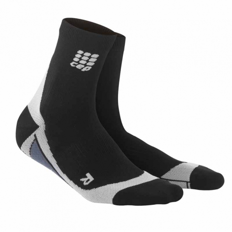 CEP men dynamic+ short socks black/grey