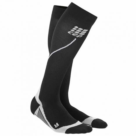 CEP women progressive+ run socks 2.0 black/grey