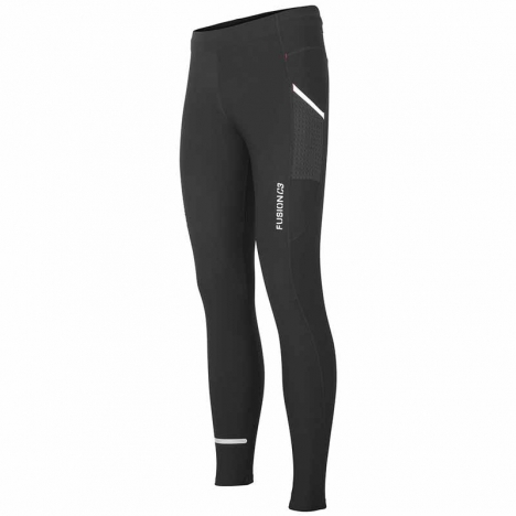 FUSION C3 LONG TIGHTS black/black Unisex