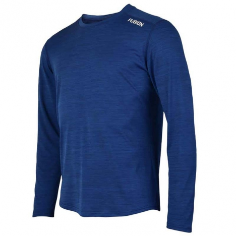 FUSION MENS C3 PLUS LS SHIRT night blue for men