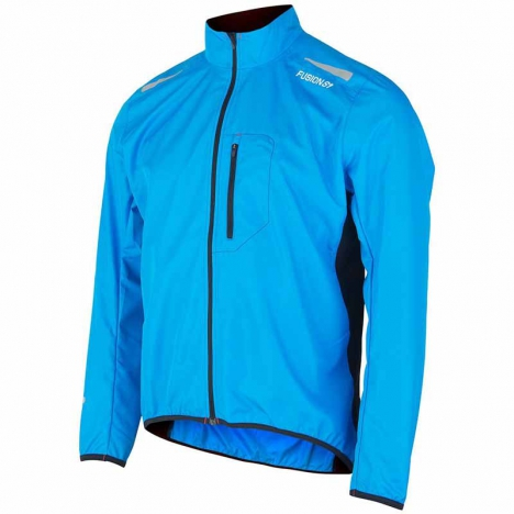 FUSION MENS S1 RUN Jacket surf/black for men