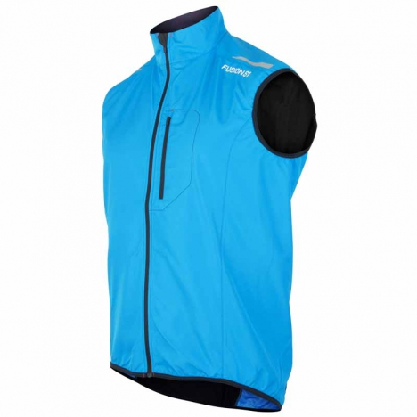 FUSION MENS S1 RUN Vest surf/black for men