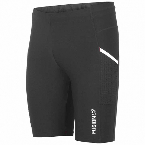 FUSION SHORT TIGHTS black/black Unisex
