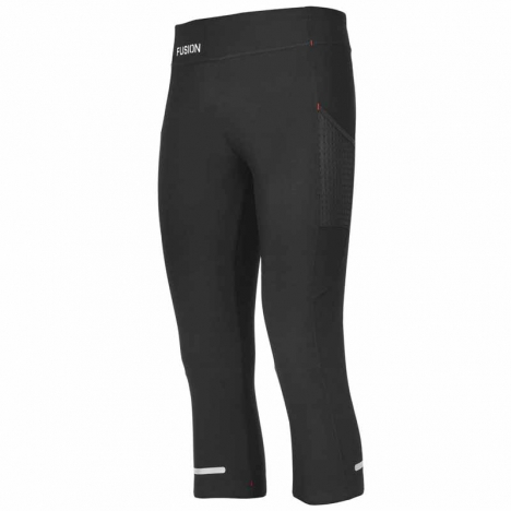 FUSION Womens C3 3/4 Training Tights black für Damen