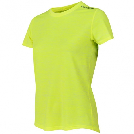 FUSION Womens C3 T-Shirt yellow for women