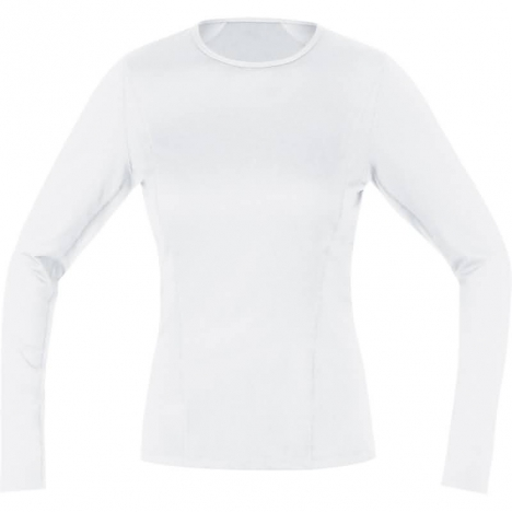 GORE Bike BASE LAYER LADY Thermo Shirt Long white für Damen