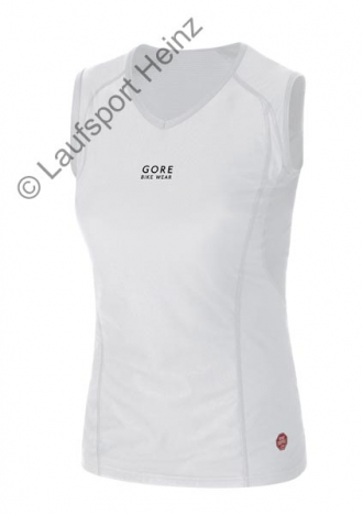 GORE Bike BASE LAYER LADY Windstopper® Singlet white für Damen