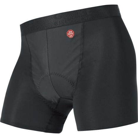GORE Bike BASE LAYER Windstopper® Boxer Shorts+ black für Herren