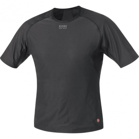GORE Bike BASE LAYER Windstopper® Shirt black für Herren