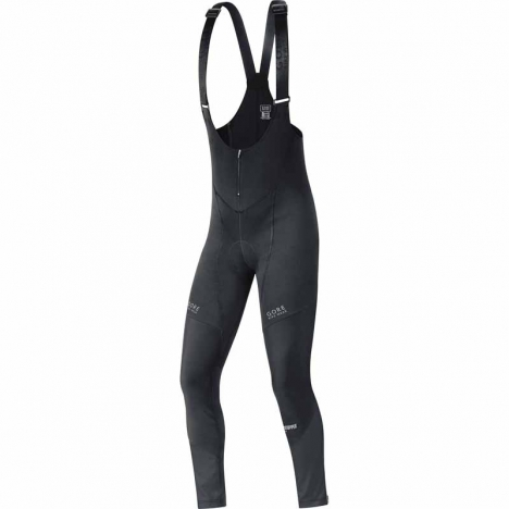 GORE Bike CONTEST 2.0 Soft-Shell Bibtights+  Windstopper® black for men
