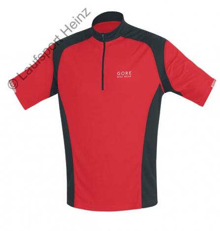 GORE Bike COUNTDOWN Jersey red/black for men