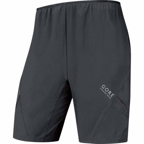 GORE Running AIR 2in1 Shorts black for men