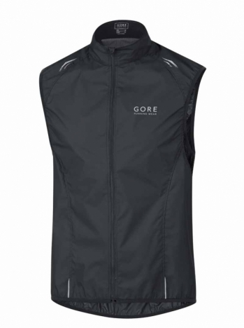 GORE Running AIR 2.0 Windstopper® Active-Shell Light Weste black für Herren