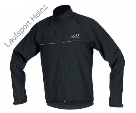 GORE Running AIR III ZIP-OFF Jacket Windstopper® black für Herren