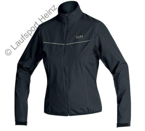 GORE Running AIR LADY Jacket  Windstopper® black for women