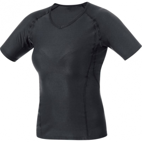 GORE Running ESSENTIAL BASE LAYER LADY Shirt black für Damen