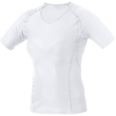 GORE Running ESSENTIAL BASE LAYER LADY Shirt white für Damen