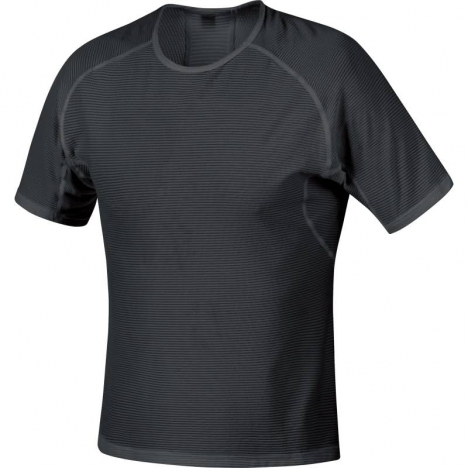 GORE Running ESSENTIAL BASE LAYER Shirt black für Herren