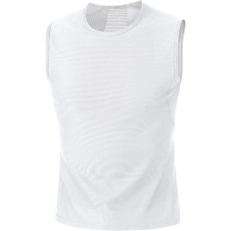 GORE Running ESSENTIAL BASE LAYER Singlet white für Herren
