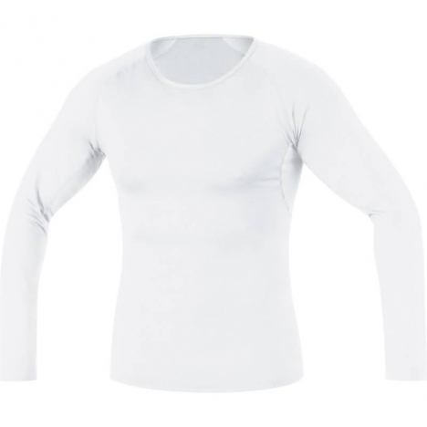 GORE Running ESSENTIAL Base-Layer Shirt long weiss für Herren