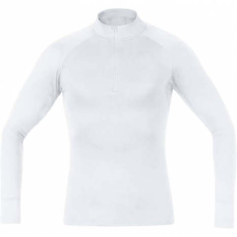 GORE Running ESSENTIAL Base-Layer Turtleneck white for men