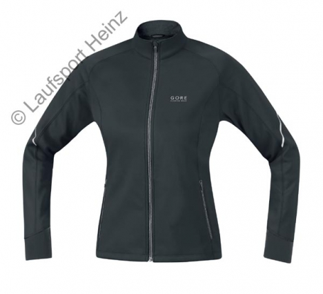GORE Running ESSENTIAL Soft-Shell LADY Jacke Windstopper® schwarz für Damen