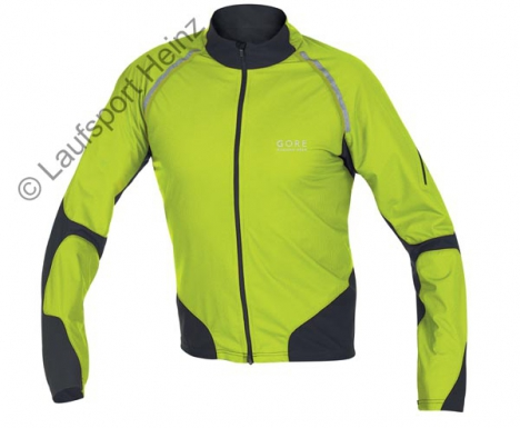 GORE Running MAGNITUDE Jacket Windstopper® oasis-green/black für Herren