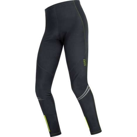 GORE Running MAGNITUDE Soft-Shell COMP Tights black/neon-yellow for men