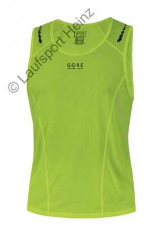 GORE Running MYTHOS 3.0 Singlet lime-green for men