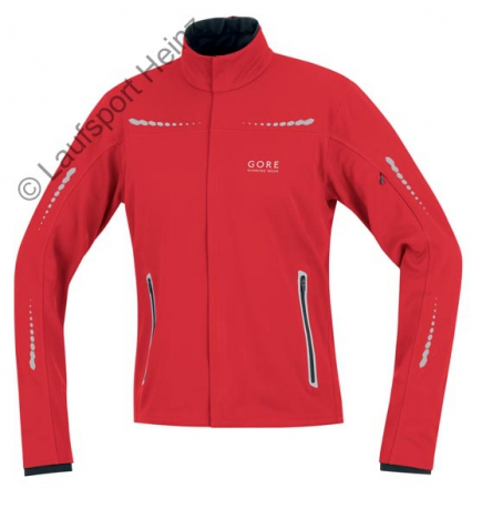 GORE Running MYTHOS Soft Shell Jacke Windstopper® rot für He