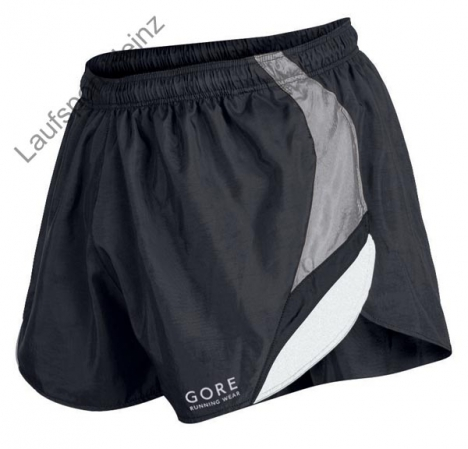 GORE Running LATTICE Shorts black/silver-grey für Herren XL
