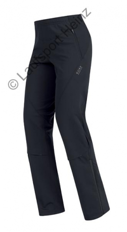 GORE Running X-RUNNING Soft-Shell LADY Pants  Windstopper® black for women