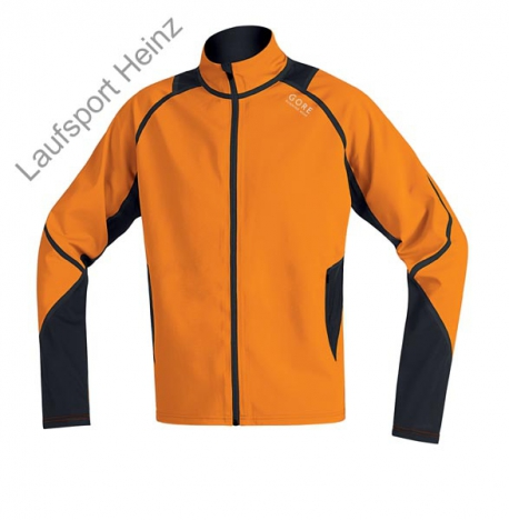 GORE Running X-Running Windstopper® Jacket  Windstopper® orange/black for men