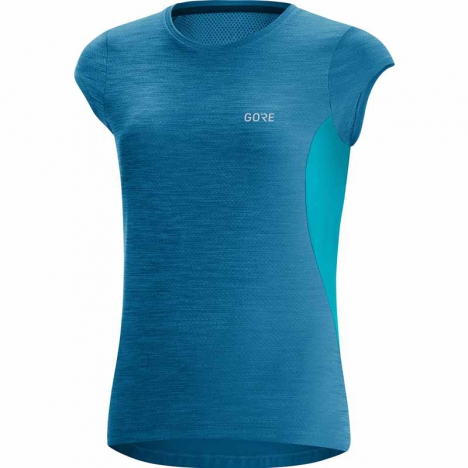 GORE® R3 Shirt sphere blue/scuba blue for women