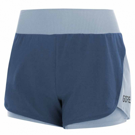 GORE® R7 Women 2in1 Shorts deep water blue/cloudy blue for women
