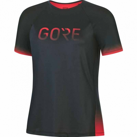 GORE® Wear Devotion Shirt Womens black/hibiscus pink für Damen