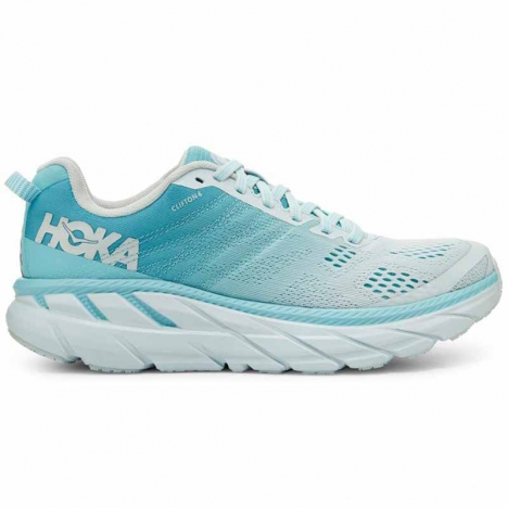 HOKA CLIFTON antigua sand/wan blue für Damen