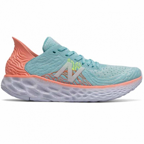 New Balance 1080 bali blue/ginger pink/lemon slush für Damen