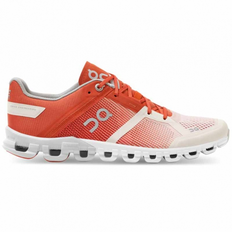 ON CLOUDFLOW rust/rose for women
