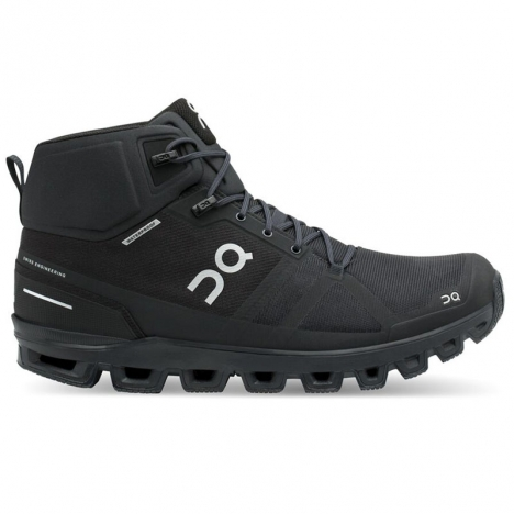 ON CLOUDROCK Waterproof all black for men