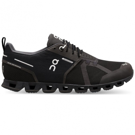 ON Cloud Waterproof black/lunar for men