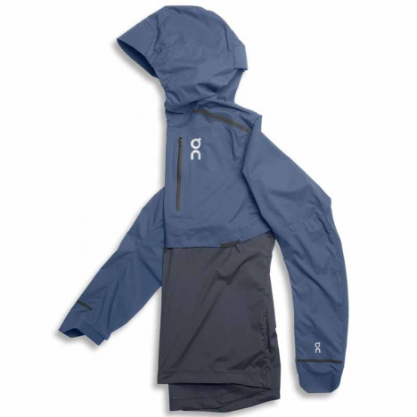 ON Running Weather-Jacket cerulean/dark for men