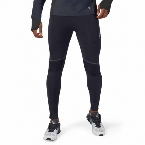 ON Running Tights Long black für Herren