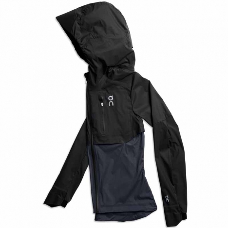 On Running Weather-Jacket black/navy for women