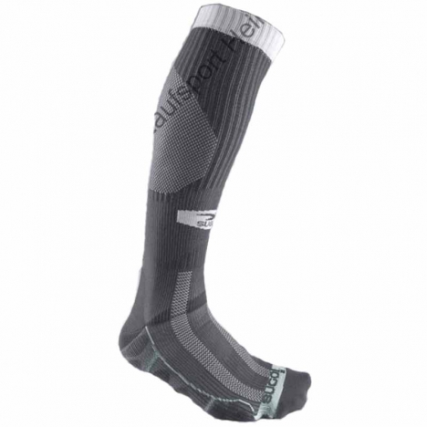 SUGOI R+R Knee High (Compression Socks) alloy