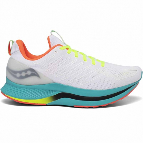 Saucony Endorphin Shift white/mutant for men