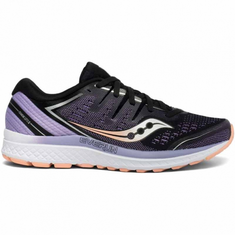 Saucony Guide Iso black/purple for women